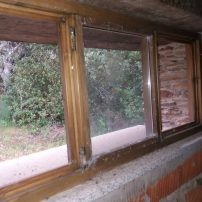 Tipo de ventana en cuarto abuhardillado