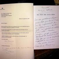 Carta de la Condesa, «Alguien que siempre confió en mi».